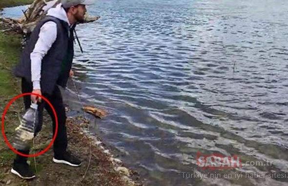 Yok böyle bir balık tutma yöntemi!