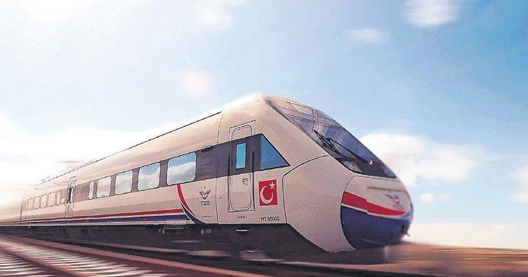 Türkiye hızlı tren hatlarıyla bağlanacak