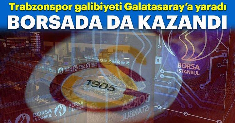 Galatasaray borsada da kazandırdı!