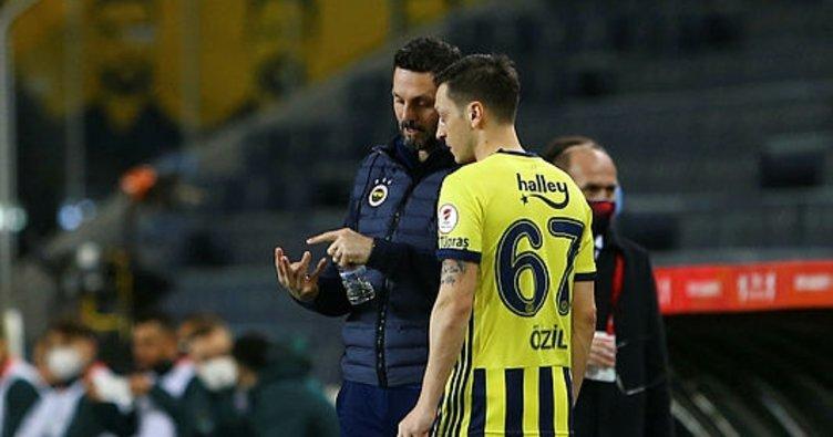 Son dakika: Mesut Özil Trabzonspor derbisinde yedek kalabilir! Gustavo, Novak, İrfan Can...