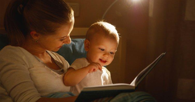 Çocuğunuza 6 aydan itibaren kitap okuyun!