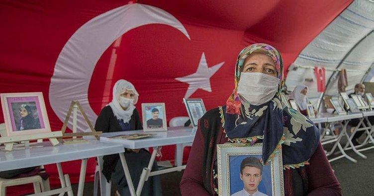 HDP önündeki anneler ile Almanya'da eylem yapan anneden dayanışma mesajı