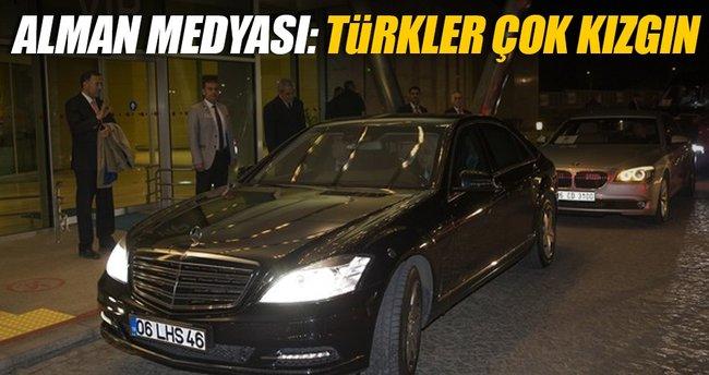 Alman medyası: Türkler çok kızgın