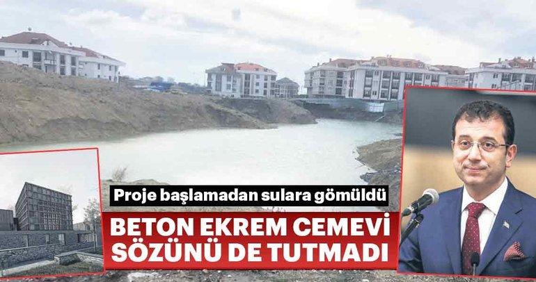 Ekrem İmamoğlu'nun cemevi projesi suya düştü!
