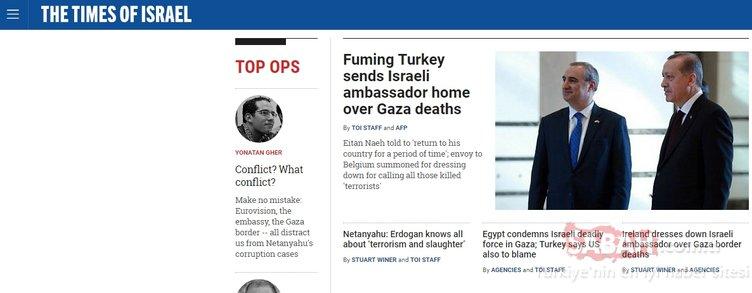 İsrail medyası Erdoğan'a kilitlendi
