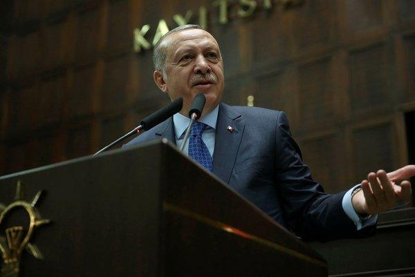 Cumhurbaşkanı Erdoğan'ın katıldığı AK Parti grup toplantısından kareler