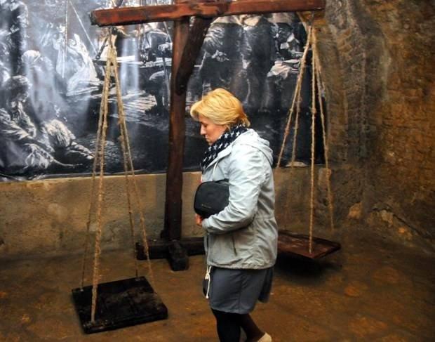 Sırbistan'da korkutucu ama zararsız sergi
