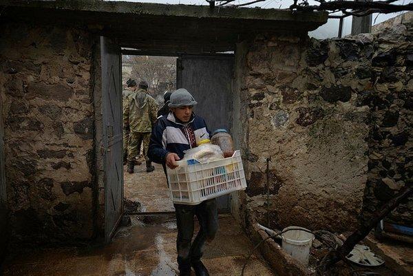 Afrin'in köyünde sevinç gözyaşları!