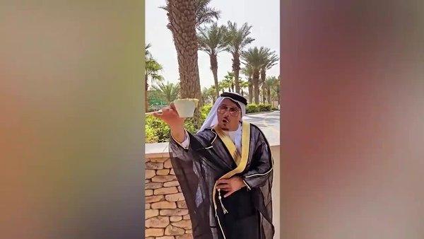 Nusret'in Dubai'deki 500 TL'lik altın tozlu kahve keyfi sosyal medayada olay oldu | Video