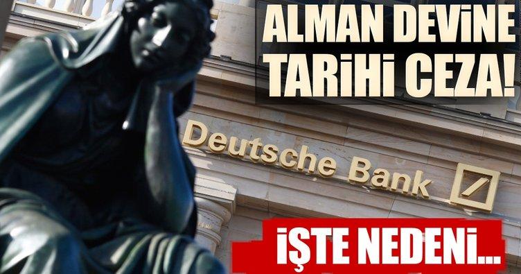 FED'den Deutsche Bank'a 156 milyon dolar ceza