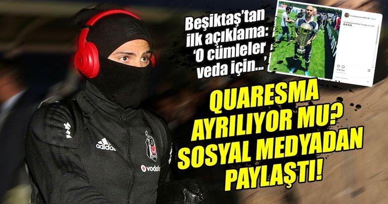Ricardo Quaresma, Beşiktaş'tan ayrılacak mı?
