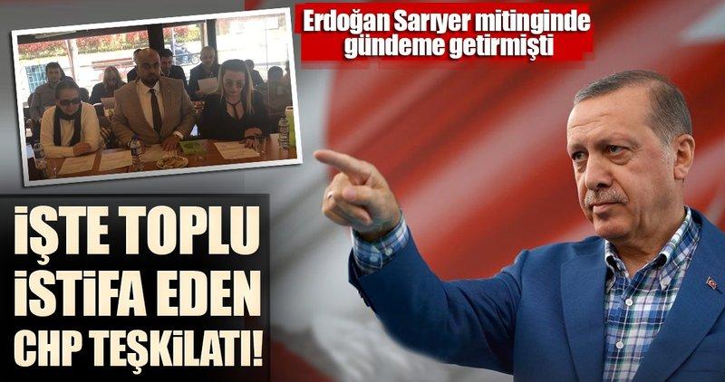 Kadıköy'de çok sayıda CHP'li istifa edip 'evet' dedi
