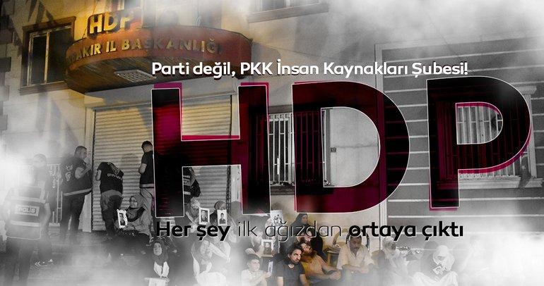 İşte gerçekler: HDP PKK'nın 'militan temin etme şubesi' gibi çalışmış!