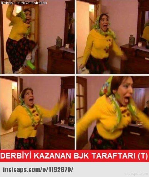 Beşiktaş-Fenerbahçe derbisi capsleri