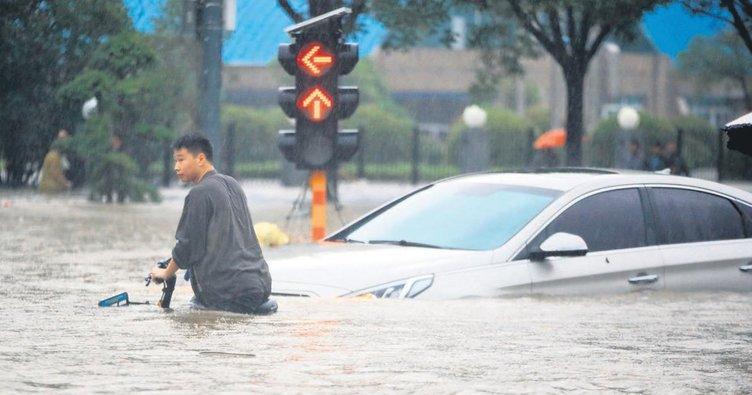 Çin'de sel kâbusu