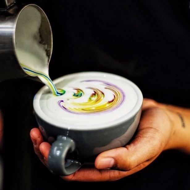 Renkli kahve trendi dünyayı sardı