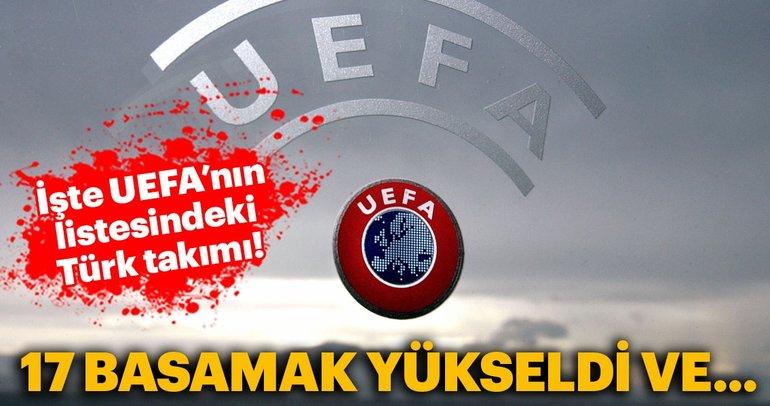UEFA, kulüpler sıralamasını açıkladı. İşte Galatasaray, Fenerbahçe ve Beşiktaş'ın sırası