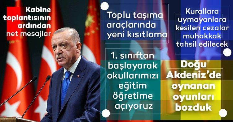 SON DAKİKA: Başkan Erdoğan ulusa seslendi! Okulların açılışıyla ilgili flaş açıklama