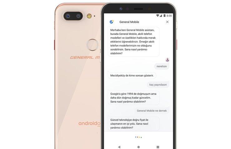 General Mobile'dan Android dünyasında bir ilk! Yapay zeka...