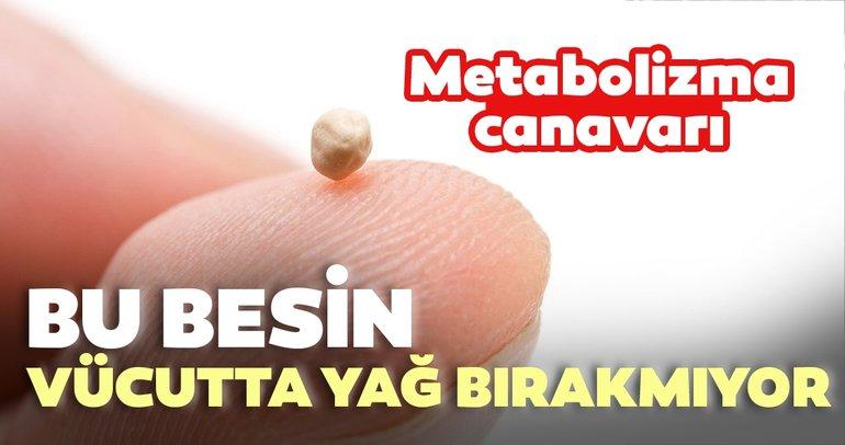 Metabolizma canavarı yiyecekler vücutta yağ bırakmıyor!
