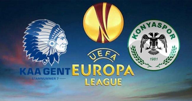 Gent - Atiker Konyaspor maçını canlı izle