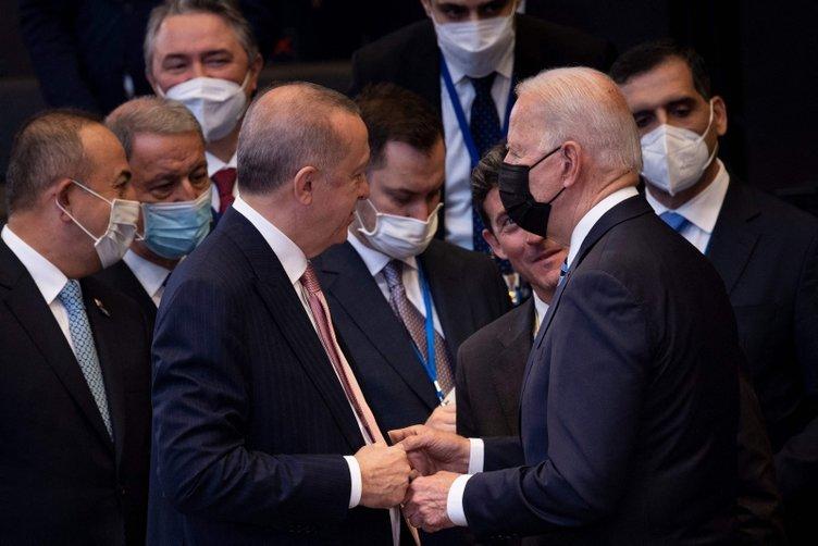 Başkan Erdoğan ile ABD Başkanı Biden arasında ilk temas! Dünyanın beklediği toplantı öncesi dikkat çeken kareler