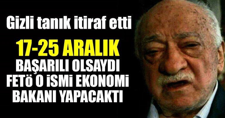 '17-25 Aralık başarılı olsaydı Mustafa Günay Ekonomi Bakanlığına getirilecekti'