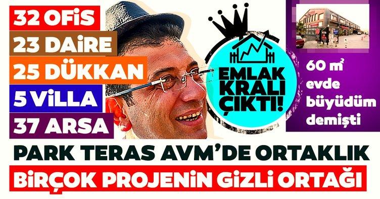 CHP'nin adayı Ekrem İmamoğlu emlak kralı çıktı!