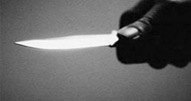 Tartıştığı kocasını bıçakladı
