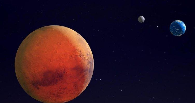 Mars'ta uzaylılara ait heykel bulundu! Kızıl...