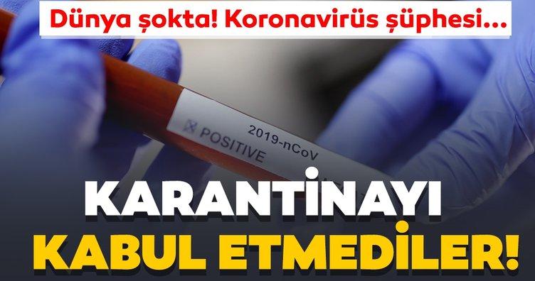 Son dakika: Koronavirüs karantinasını kabul etmeyip ülkelerine geri döndüler! Kovid-19 salgınında ölü sayısı giderek artıyor...