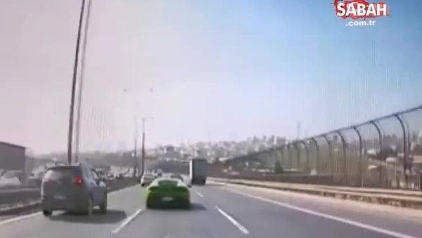 Lüks aracıyla makas atarak kazaya yol açmıştı. O sürücü gözaltına alındı | Video