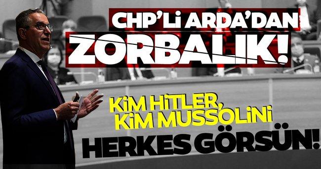 Halil Arda'dan zorbalık! CHP'li belediye başkanı, CHP'li Meclis üyesini söz istediği için zabıtayla dışarı çıkarmak istedi