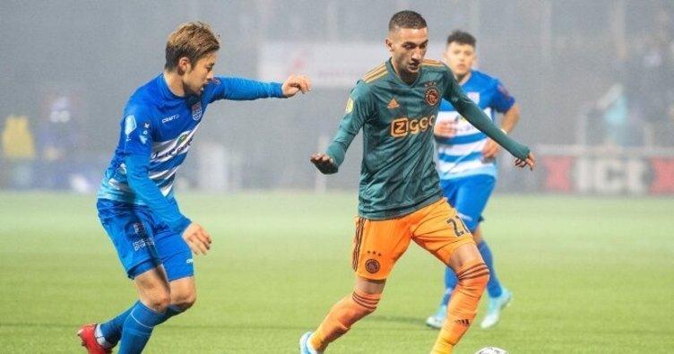 Ajax'tan  Zwolle'ye geçit yok! - Zwolle2 - 4 Ajax (MAÇ SONUCU)