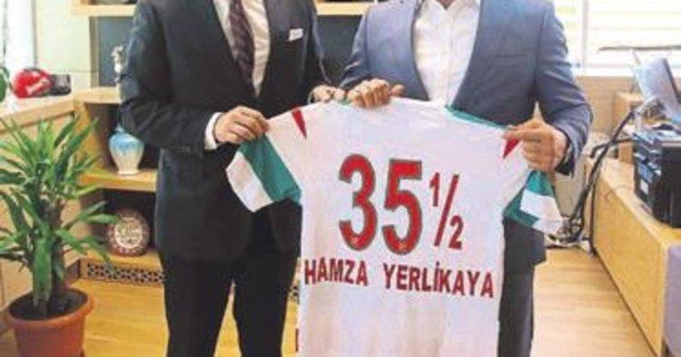 Karşıyaka'dan Hamza Yerlikaya'ya ziyaret