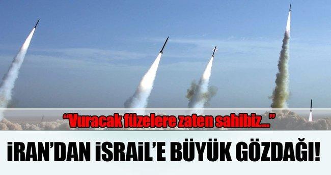 İran: Uzun menzilli füzeye ihtiyacımız yok çünkü hedefimiz İsrail