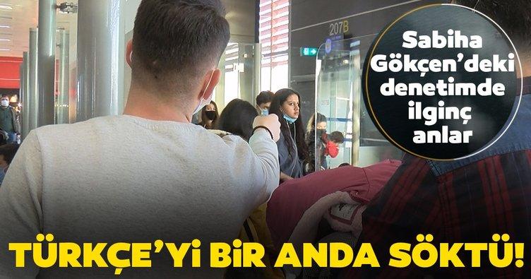 Sabiha Gökçen'de ilginç anlar! Cezayı görünce Türkçe konuşmaya başladı