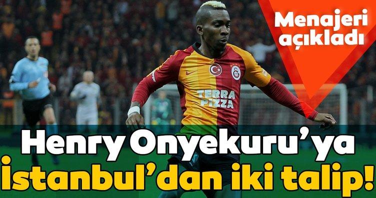 Menajeri açıkladı! Henry Onyekuru'ya İstanbul'dan iki talip
