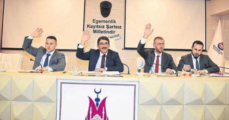 Şehzadeler Belediyesi'nde ilk toplantı gerçekleştirildi