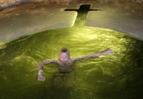 Kutsal dalış!