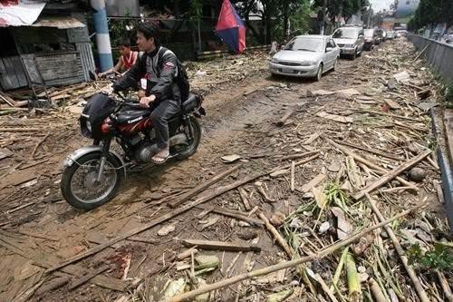 Filipinler'de sel felaketi
