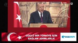 Son dakika haberi |Cumhurbaşkanı Erdoğan'dan tarihi konuşma 'Karadeniz'de doğalgaz rezervi bulduk' | Video