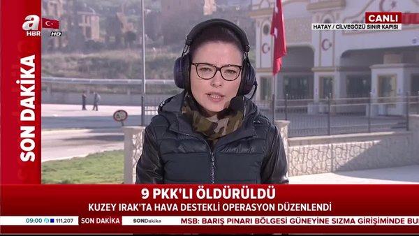 TSK'nın Kuzey Irak'a hava destekli operasyonunda 9 PKK'lı terörist öldürüldü! | Video