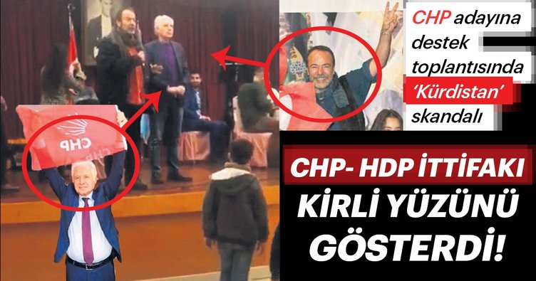 CHP-HDP ittifakı kirli yüzünü gösterdi