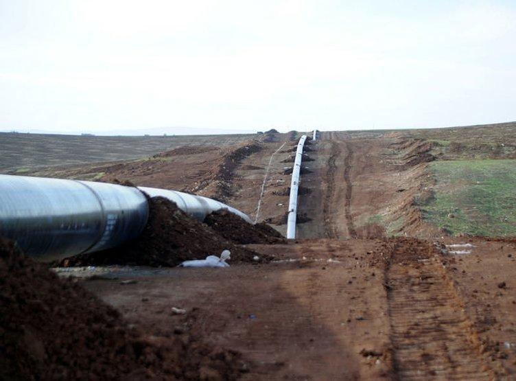 IKBY-Türkiye Petrol Boru Hattı'nın son hali