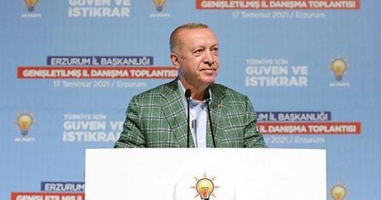 Son dakika: Başkan Erdoğan, 'Sahadaki uç beylerimiz' diyerek seslendi! Teşkilatlara flaş uyarı...