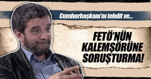 Mümtazer Türköne hakkında soruşturma