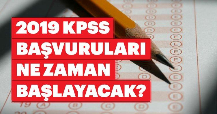 KPSS başvuruları 2019 ne zaman başlayacak? ÖSYM takvimi ile KPSS sınavı ne zaman, hangi tarihte yapılacak?