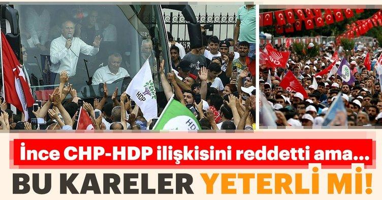 Muharrem İnce CHP-HDP ilişkisini reddetti ama...
