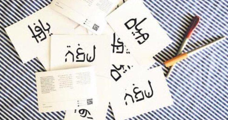 638 karakterlik 'barış' alfabesi